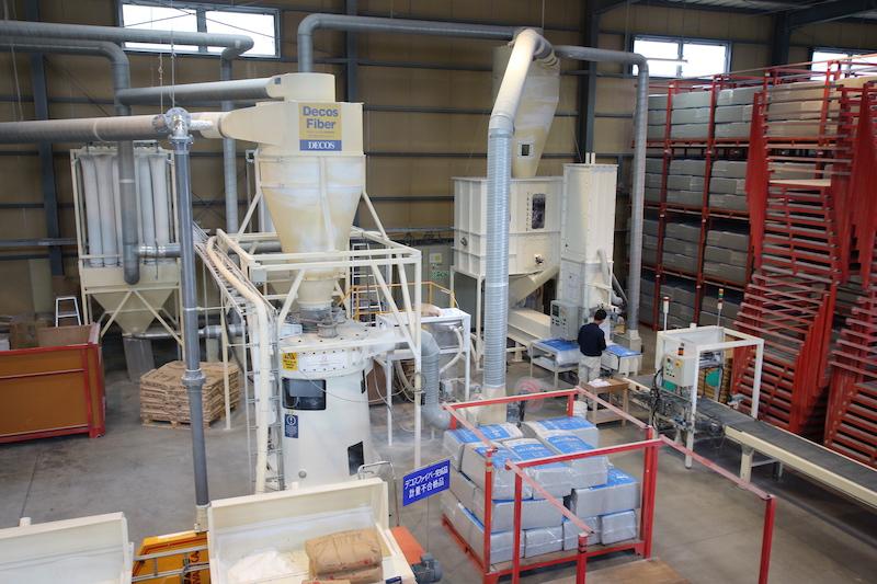 「セルロースファイバー」の工場に潜入!断熱材はどうやって作られる?