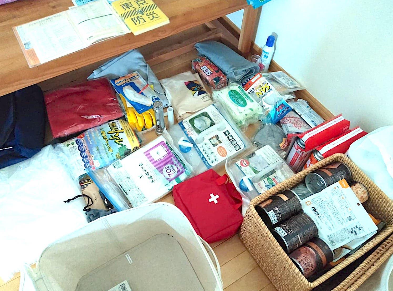 台風でわが家の危機!高橋さんちの避難訓練